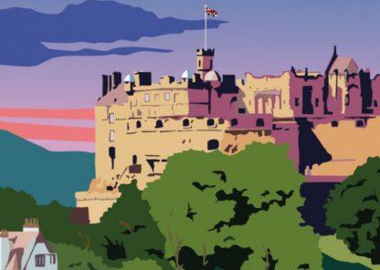 Edinburgh Castle Detail