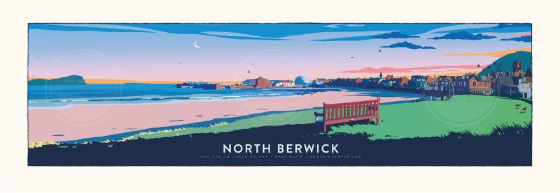 North Berwick Bench Panorama