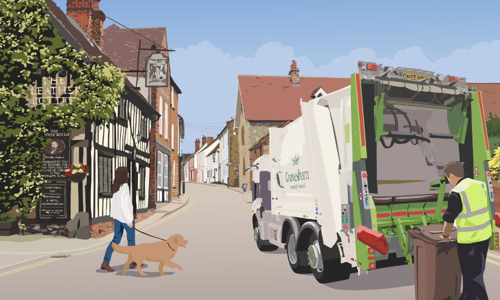 Gravesham Refuse Truck