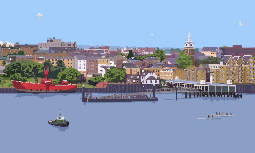 Gravesend Waterfront