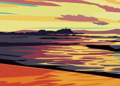 West Bay Sunset Detail