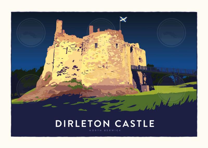 Dirleton Castle Full